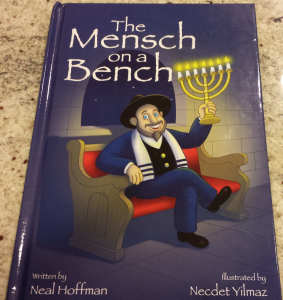 The cover of Mensch on a Bench