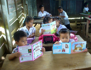 Sustained_Silent_Reading_in_Laos_2013